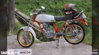 Modifikasi Montor Honda Gl