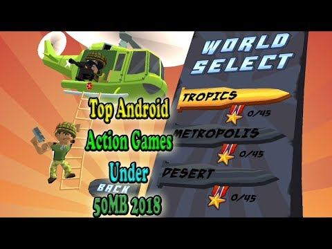 Top Android Action Games Under 50MB 2018