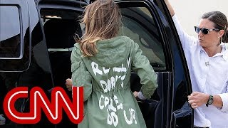 Does jacket choice cloud Melania