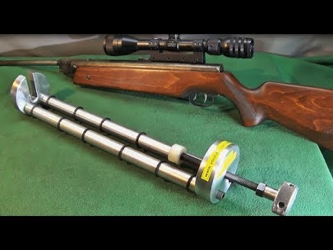 Make A Heavy Duty Air Rifle Spring Compressor Plus Using An Angle Plate Fixture