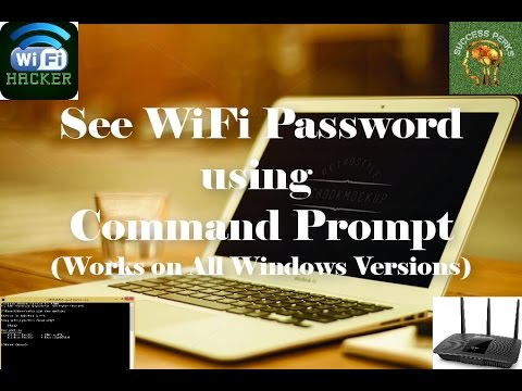 How to See WiFi Password using Command Prompt that Works on All Windows Versions