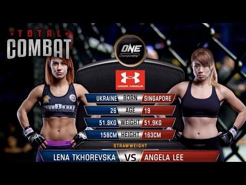 Xxx Mp4 Total Combat Lena Tkhorevska Vs Angela Lee Full Fight Replay 3gp Sex