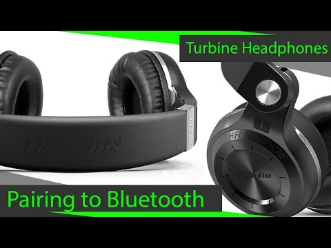 How to Pair Bluedio H-Turbine to Bluetooth Device