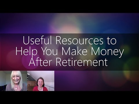 How to Make Money in Retirement - Useful Resources | Nancy Collamer | Sixty and Me Show