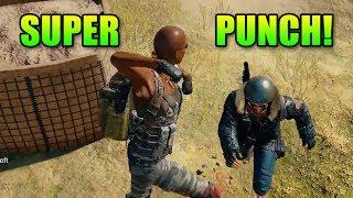 Super Punch!   PlayerUnkown