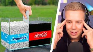 Avive REAGIERT auf EXPERIMENT: COLA vs MENTOS
