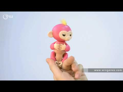 Fingerlings Factory - Will Speak And Inductive Finger Monkey Toys