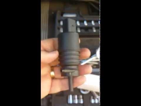 E46 BMW 330ci or 328i Windshield Wiper Pump Replacement 2001-2005
