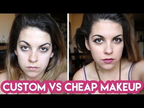 Custom Makeup vs. Drugstore Makeup
