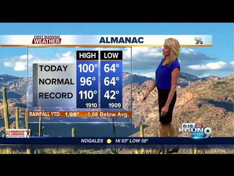 April's First Warning Weather May 30, 2018