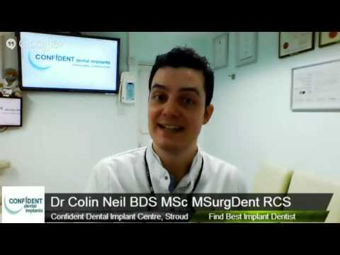 Best Implant Dentist Oral Surgeon, Stroud Gloucestershire Cotswolds, Confident Dental Implants