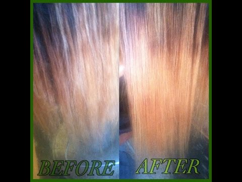how to take care of your virgin hair after bleach/dye