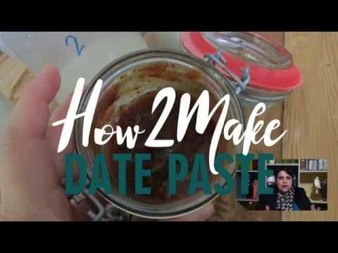 Date Paste Recipe for Nut Milk Kefir Brewing