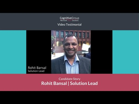 Microsoft Talent Solutions   Rohit Bansal Solution Architect