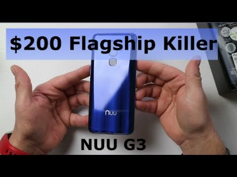 $200 Budget Phone With Flagship Features - NUU Mobile G3