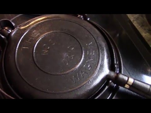 Cast Iron Waffles for The Kneady Homesteader