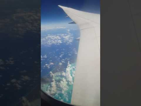 Thomson Drealimer flight from Manchester to Monteago Bay , Flying over Cuba