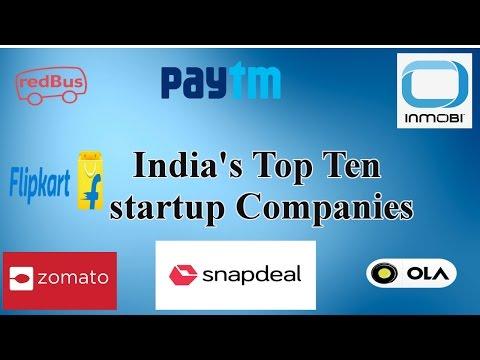 India's Top Ten  startup Companies
