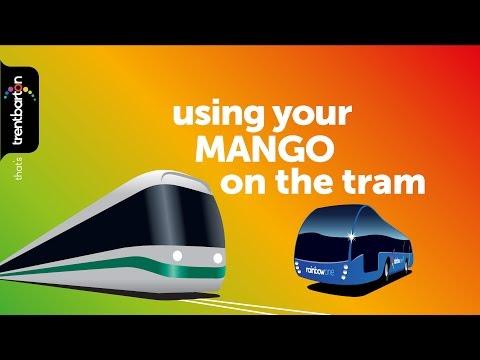 trentbarton - using MANGO on the tram