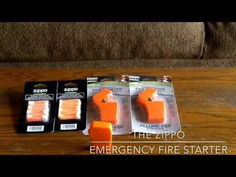 Best New EDC gear - Zippo Emergency Firestarter