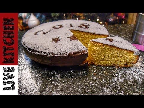 Βασιλόπιτα πολυτελείας (Vasilopita) -  Cake Christmas  - Live Kitchen