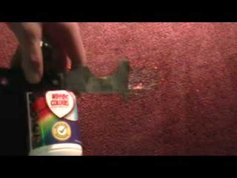 Winning Colours Stain Remover, removing gum off of carpet
