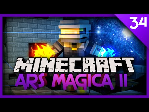MineCraft Ars Magica 2 - Ep 34 - NEW SPELL! PLACE BLOCK! (1.7.10 Let's Play)