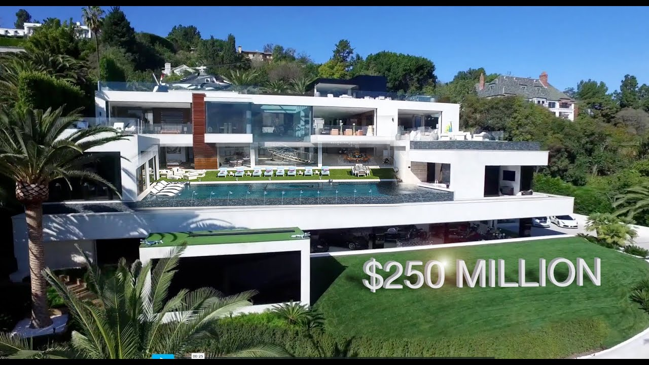 Most Expensive House in the US   924 Bel Air Rd. California