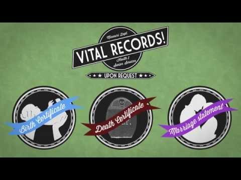 Get copies of Missouri vital records