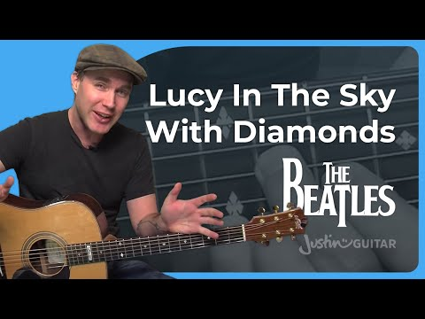 How to play Lucy In The Sky With Diamonds by The Beatles (Guitar Lesson SB-409)