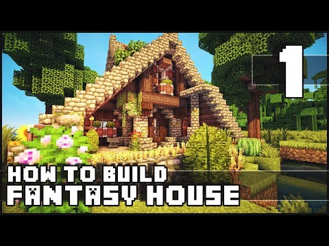 Minecraft - How to Build : Fantasy House - Part 1