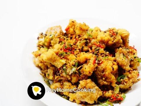 Salt and Pepper Crispy Chicken