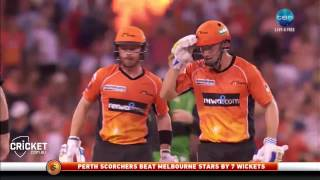 Highlights: Scorchers v Stars, BBL06 semi-final