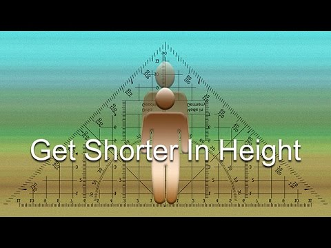 Get Shorter In Height (Subliminal)