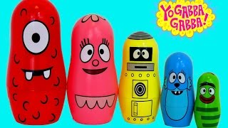The Yo Gabba Gabba Nesting Dolls Surprise Toys and Play-Doh