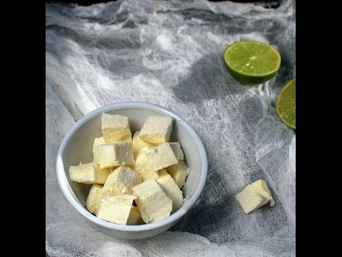 Homemade Paneer / Indian Cottage Cheese