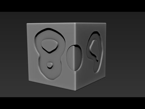 Zbrush Quick tip: Clean Extrusion with low polygon mesh