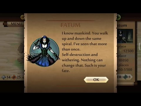 Shadow Fight 2 vs Fatum | Finishing FATUM Shadow Fight 2