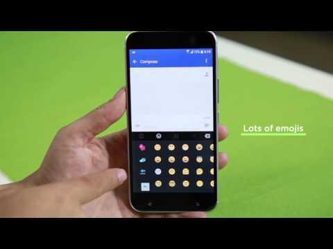 HTC 10 - Onscreen Keyboard