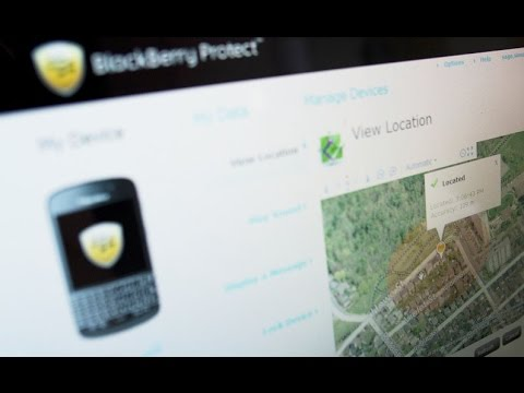 BlackBerry 10 - How to delete BlackBerry Protect On Q10/ Xóa BlackBerry Protect + ID - Part 1