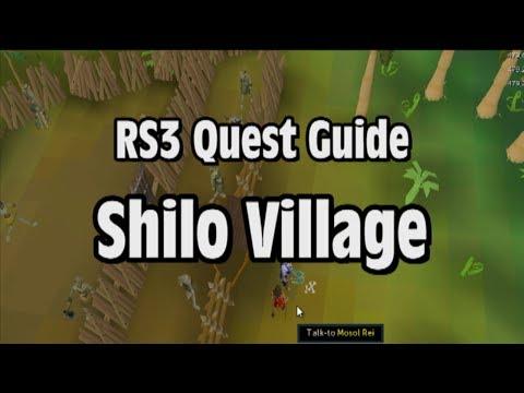 RS3: Shilo Village Quest Guide - RuneScape