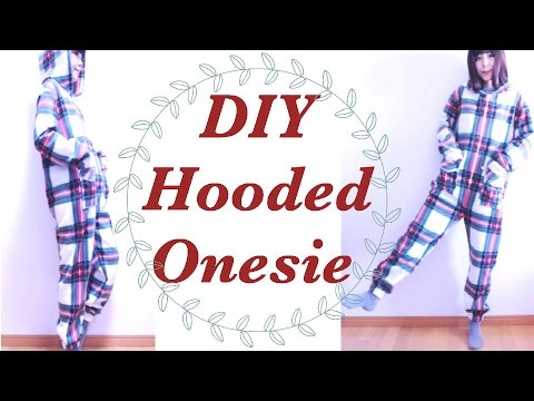 DIY Hooded Onesieㅣmadebyaya