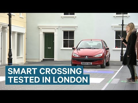 Smart LED Road Crossing Unveiled In London
