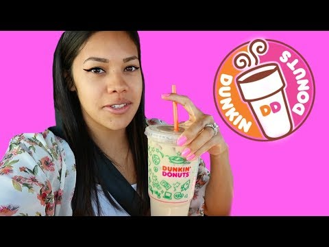 First time trying Dunkin Donuts iced coffee!