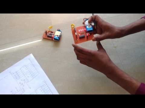 how to make rf transmitter and receiver circuit