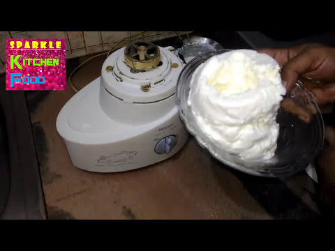 How to Make Butter at Home 💙 Homemade Butter with Mixer Grinder 💚 Sarabjit Sanjha Chulha Recipe
