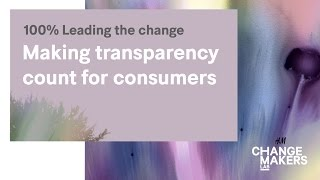 H&M Change Makers Lab – break out session: Making transparency count for consumers