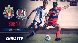 EN VIVO: Chivas vs. Atlético San Luis | Jornada 4 | LigaMX Sub17 | Apertura 2019 | CHIVASTV