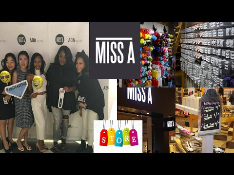EVERYTHING $1! SHOP MISS A HAS A STORE IN DALLAS! VLOG/HAUL