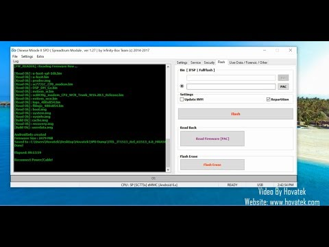 [Hovatek] How to backup a Spreadtrum Android phone's firmware using Chinese Miracle II SPD
